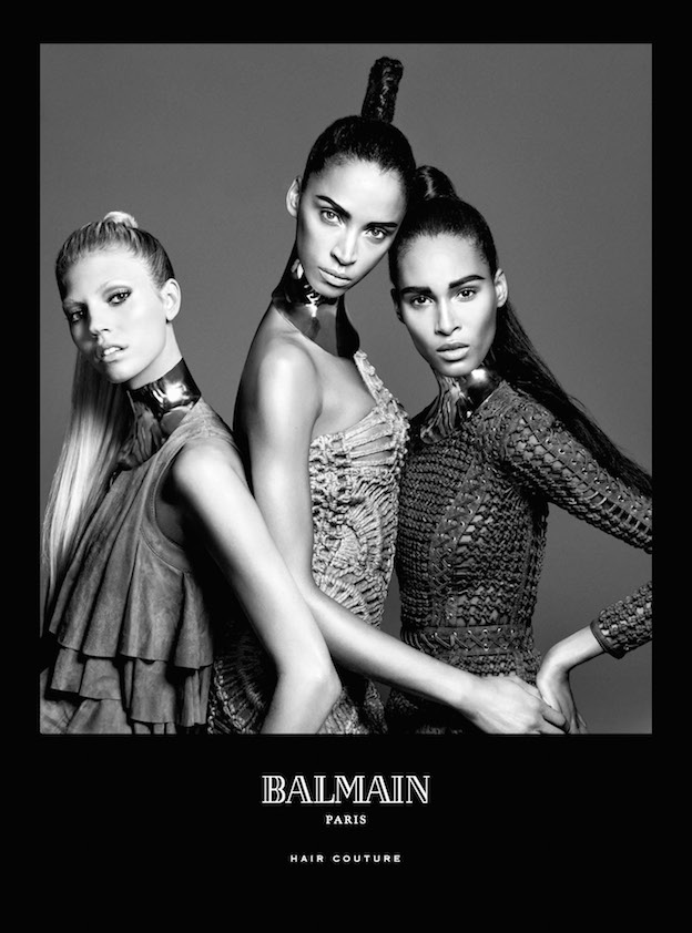 Balmain Hair spring-summer campaign 2016 – natural beauty and diversity