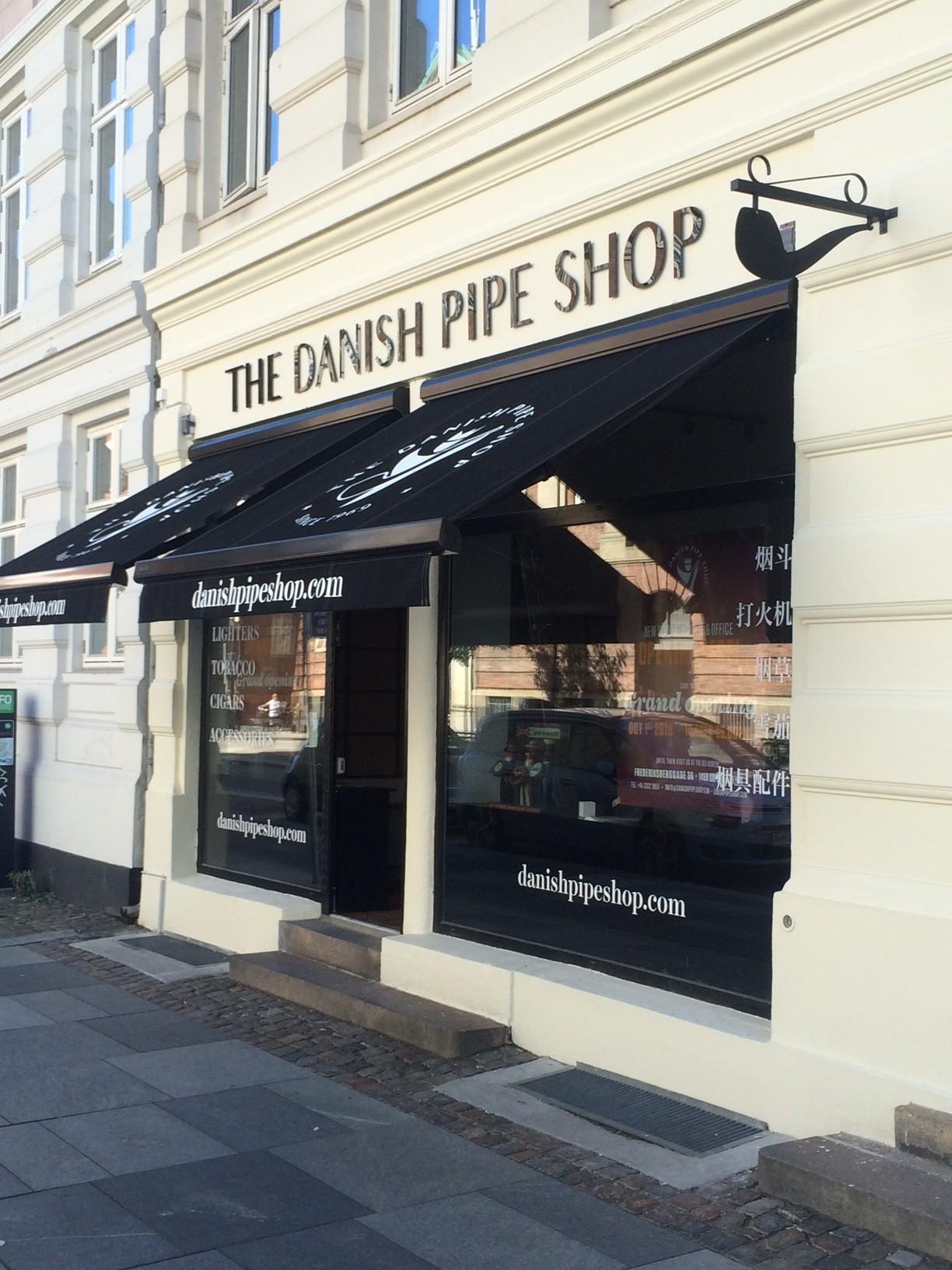 Historisk pibebutik forlader Strøget