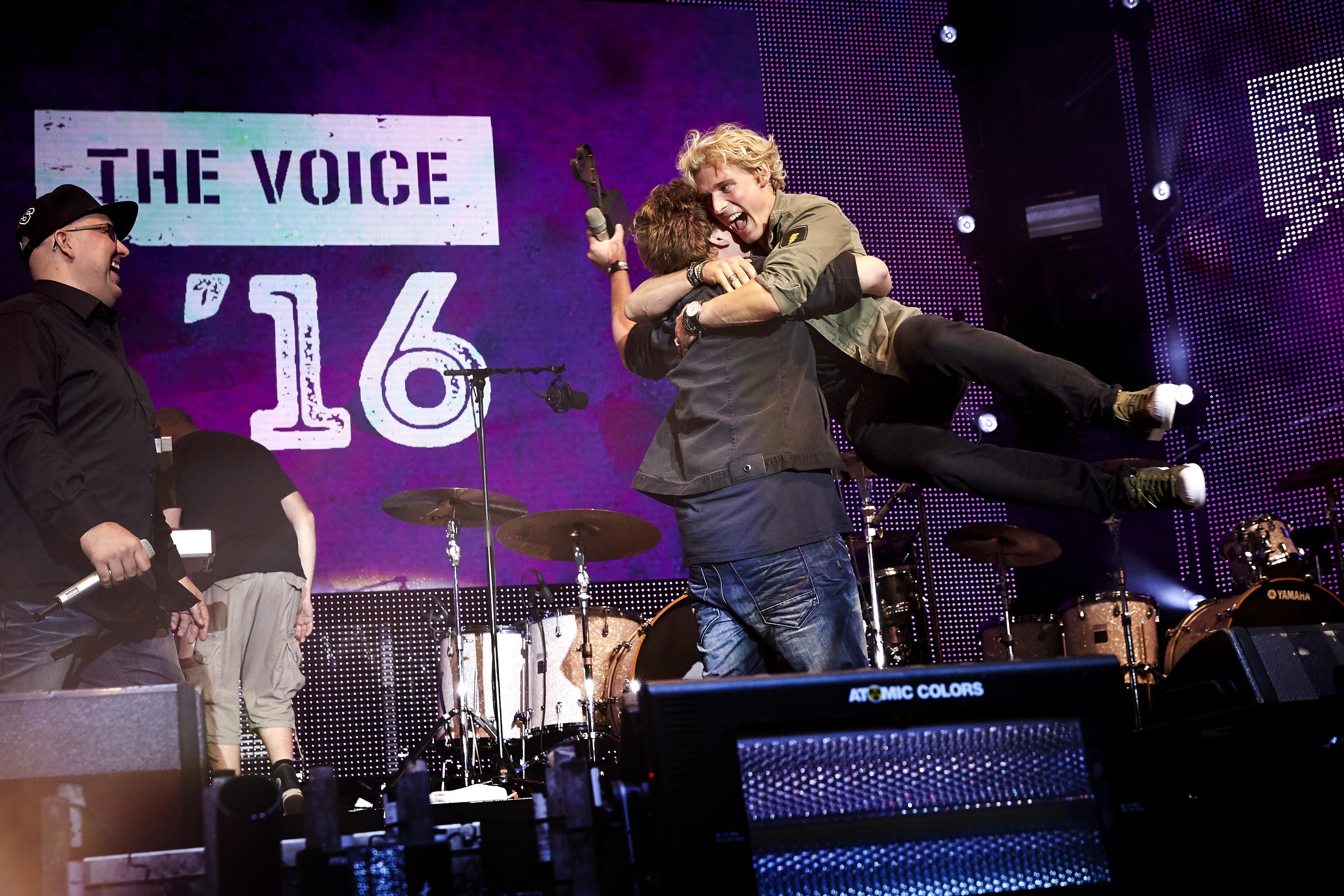 The Voice '16 lagdeTivoli ned