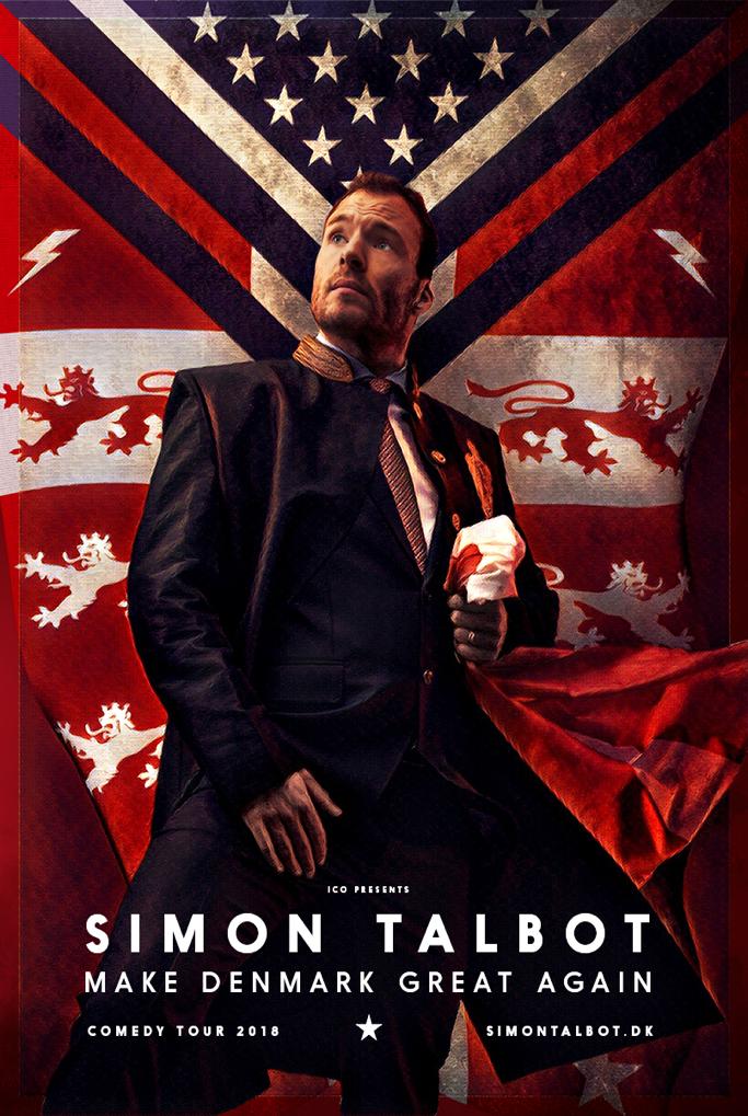 Simon Talbot er på en mission: MAKE DENMARK GREAT AGAIN