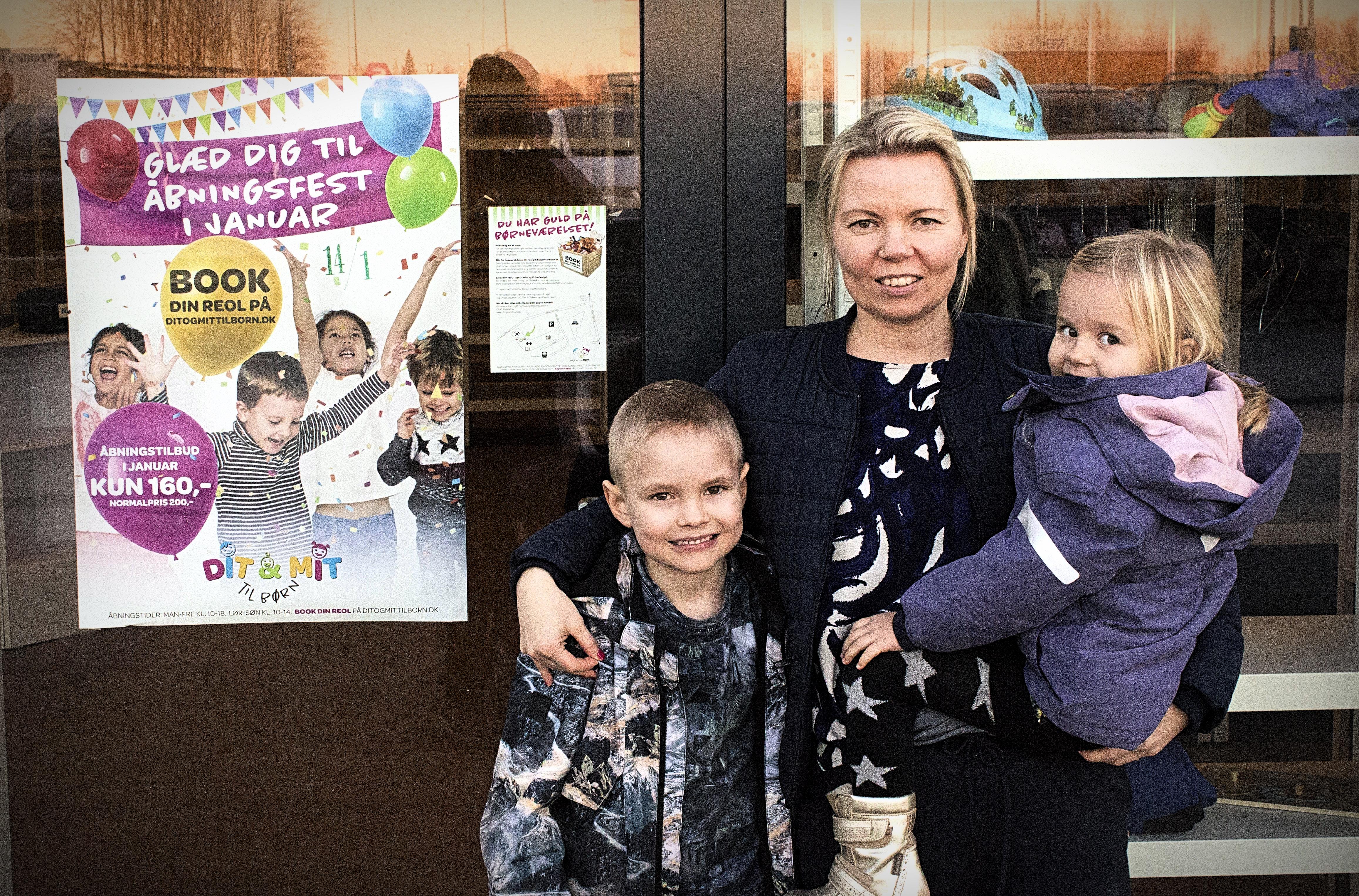"""""""Dit & Mit til børn"""" – mor til tre bag nyt bæredygtigt koncept i Karlslunde"""