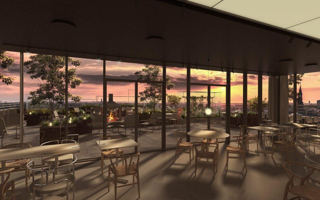 Tramonto – Hovedstadens nye italienske restaurant med 360° udsigt over København og det gamle Carlsberg