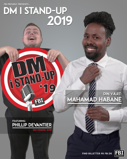 FBI PROUDLY PRESENTS: HER ER ÅRETS FEM FINALISTER VED DM I STAND-UP 2019