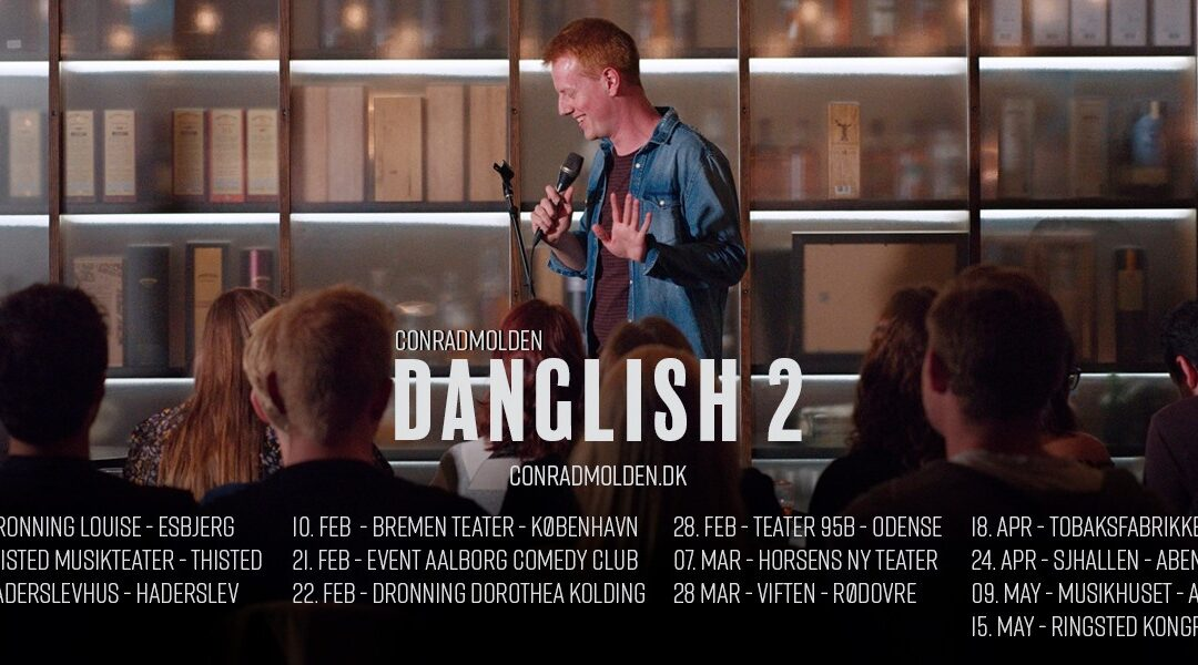 DANGLISH2 – a show you will grine a lot af