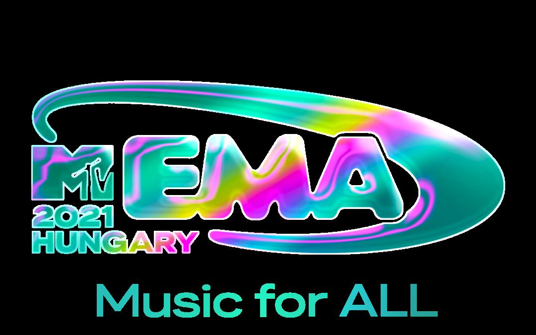 2021 MTV EUROPEAN MUSIC AWARD, EMA, BLIVER SENDT LIVE FRA UNGARN D. 14. NOVEMBER OG BLIVER EN GLOBAL HYLDEST TIL MUSIK